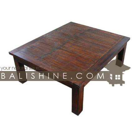 Balishine Indonesian Handicraft Item Coffee Table 114sri133954
