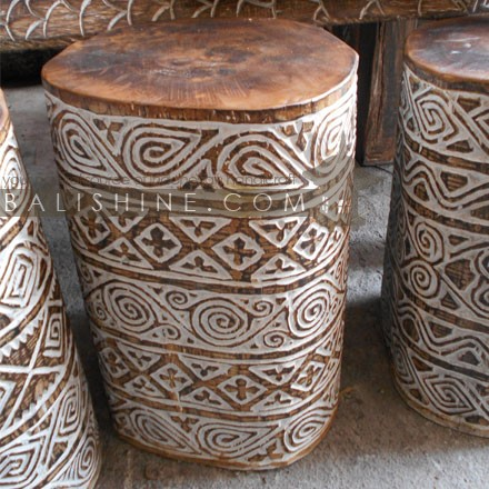 This Primitive Stool Round is a part of the furniture collection, click to learn more about it